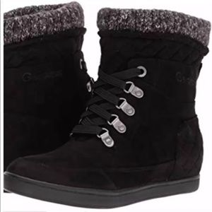 G by Guess Women's Puck Snow Boot Boots Black